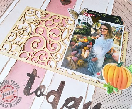Scrapbooking Facile – Fall layout