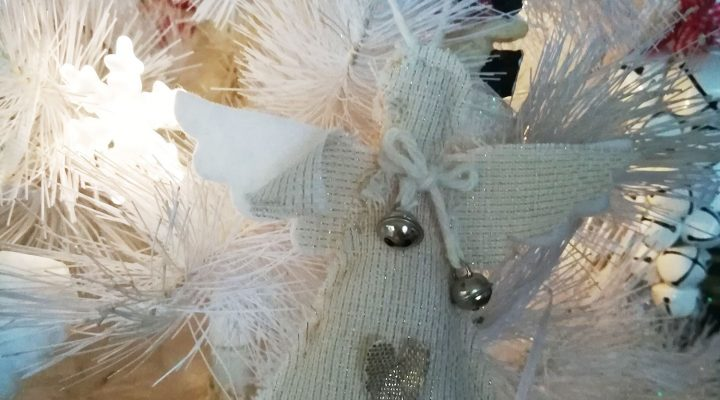 TroppoTogo contest – Fabric angel for the Christmas tree