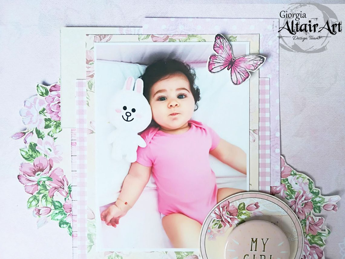 AltairArt – baby girl layout