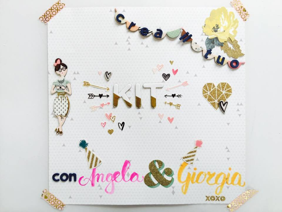 Crea il tuo Kit con Angela & Giorgia – December mood board and my kit