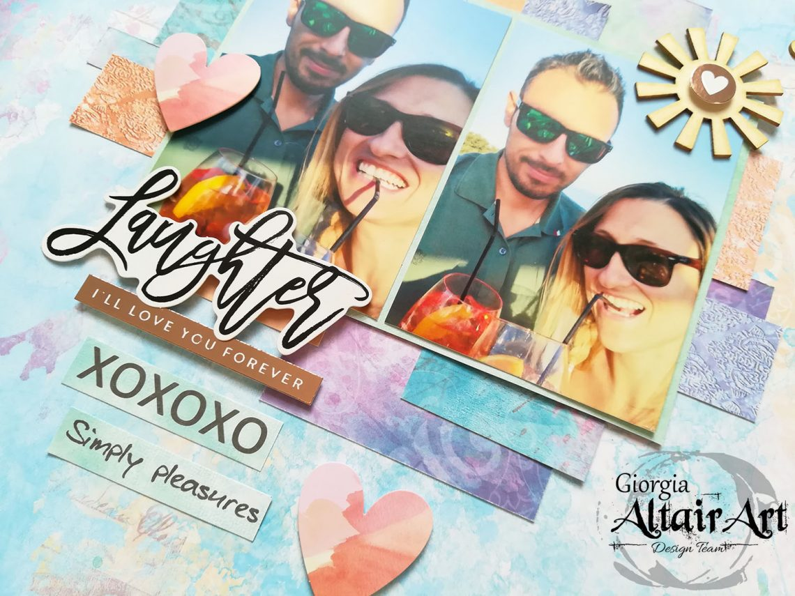 AltairArt – laughter layout