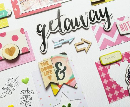 Crea il tuo Kit con Angela & Giorgia – layout with April kit
