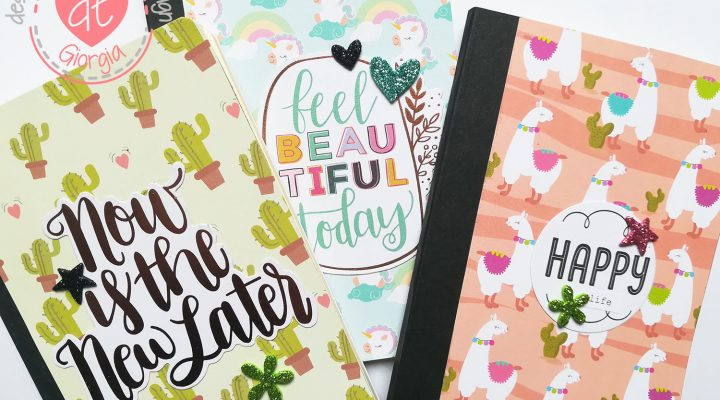 Flavir Design – altered notebooks tutorial