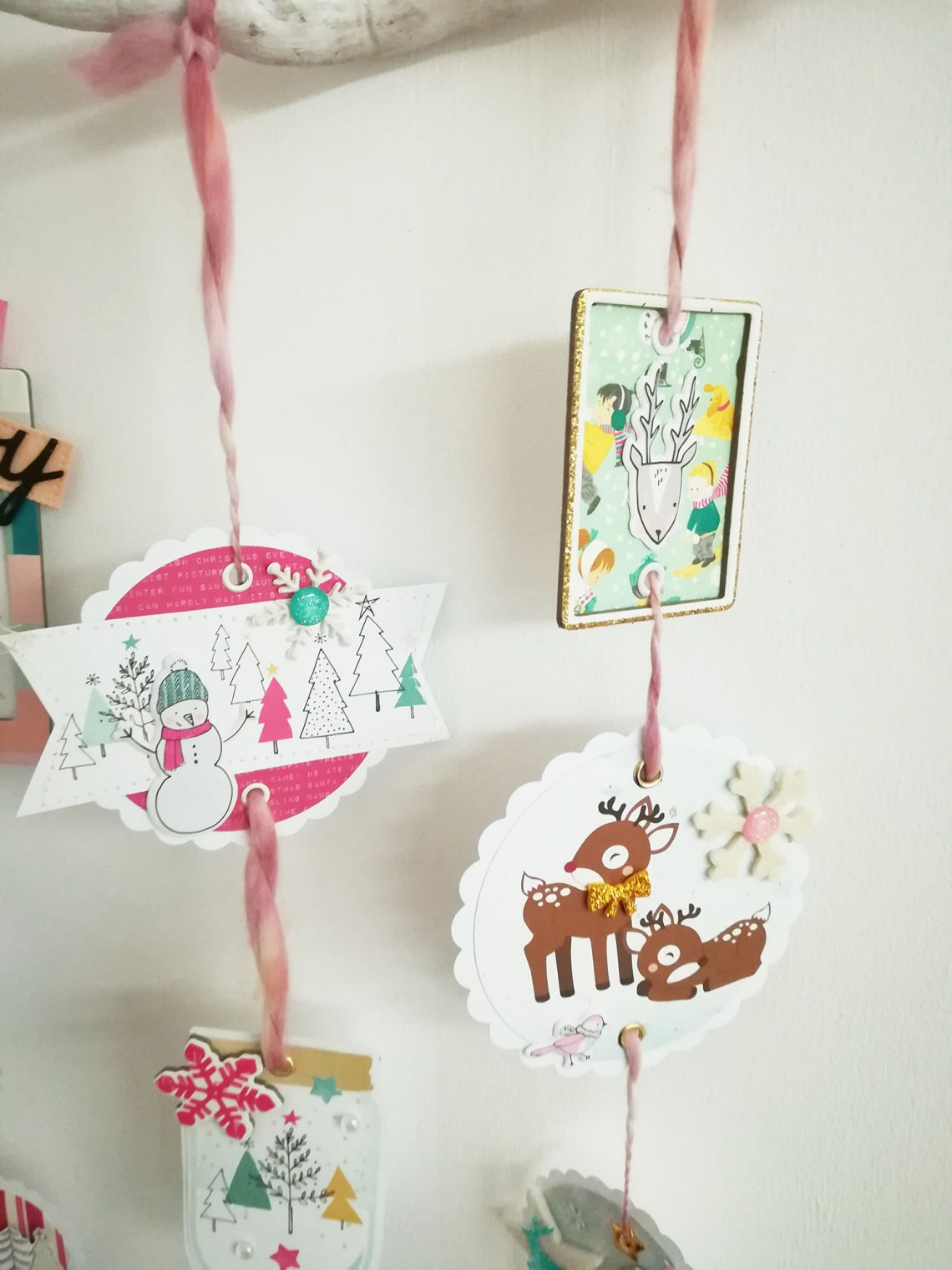 Home decor – Christmas mobile