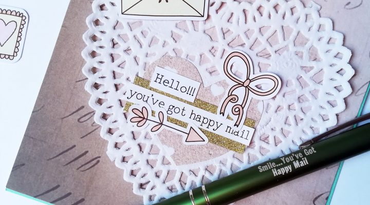 Lollipop Box Club – card with February kit