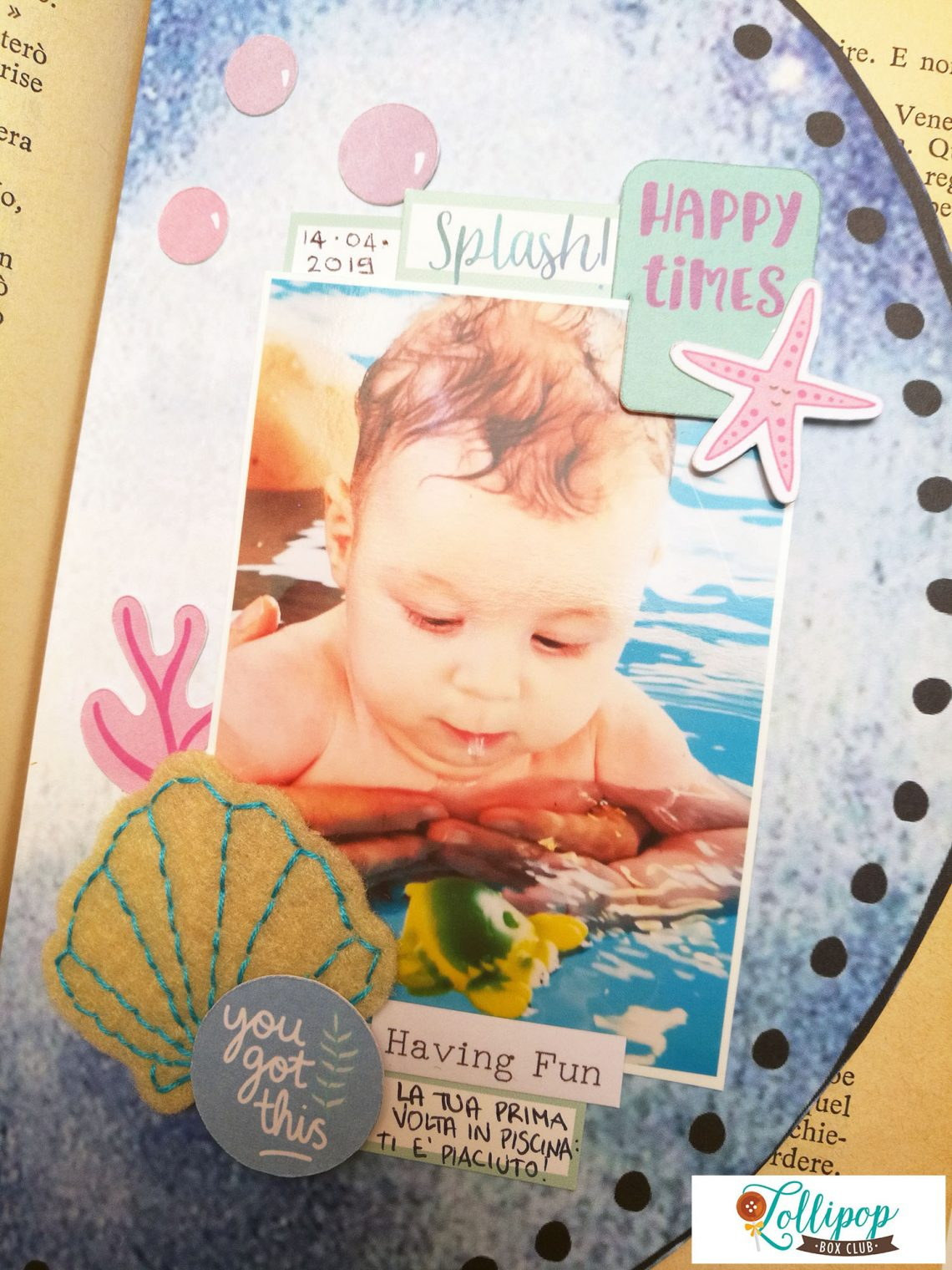 "Lollipop Box Club – other pages of my ""365 days of love"" book"