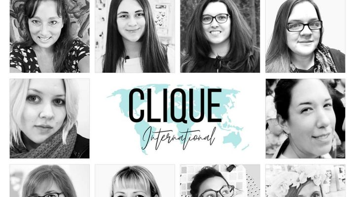 Yay for me: Clique International Design Team!