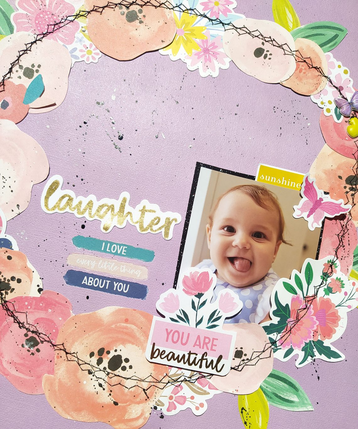 Laughter layout