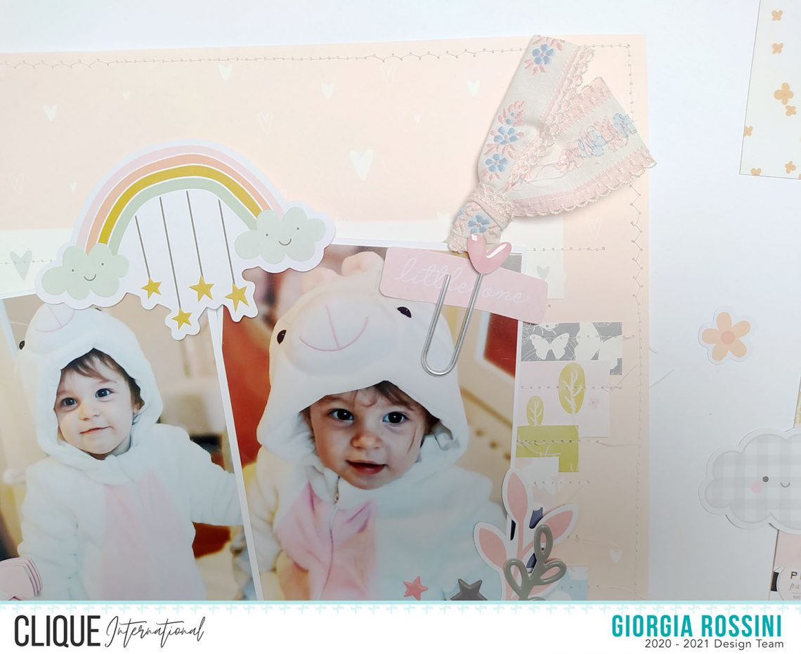 Clique International – Baby girl layouts