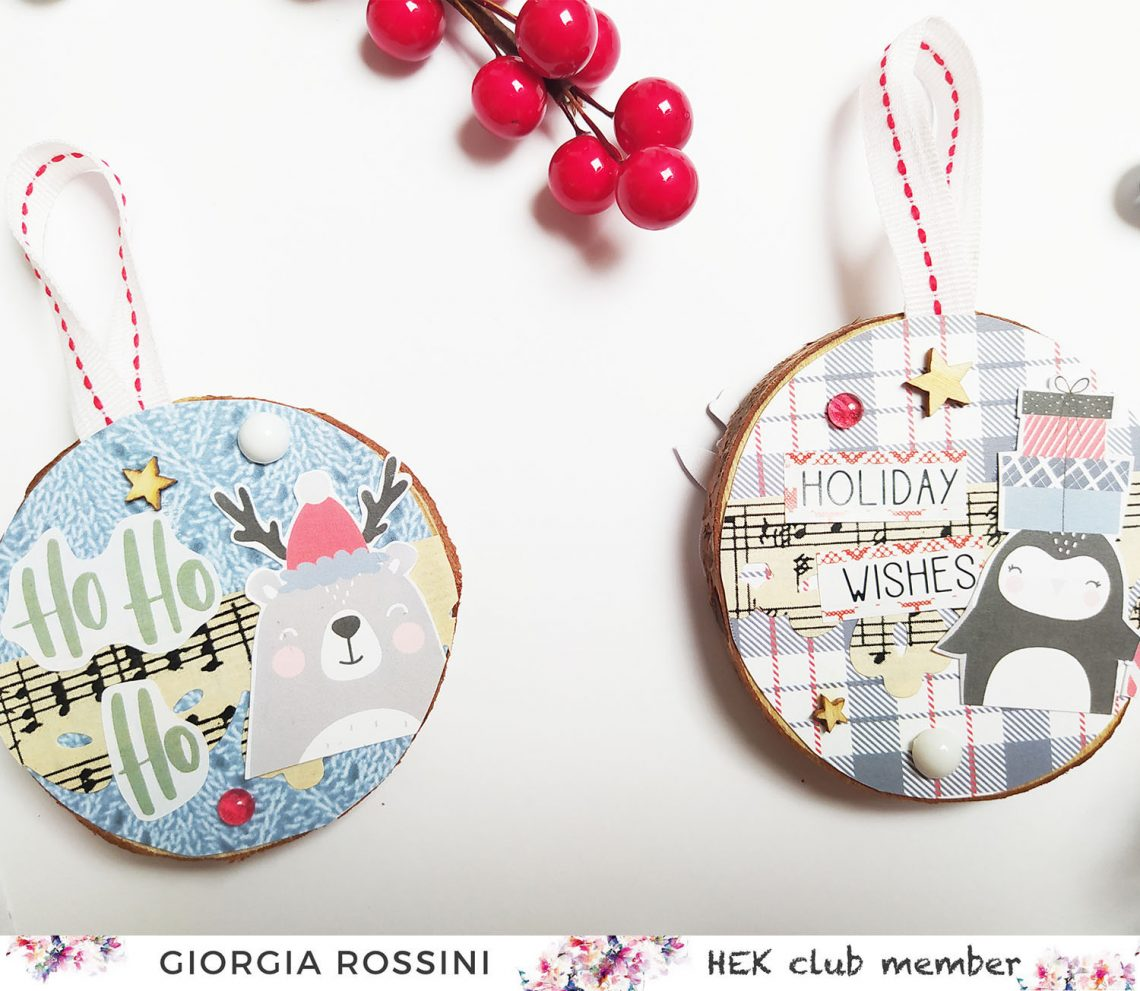 HEK Club – Christmas ornaments and packaging